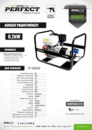 Stalco Perfect Power Tools - agregat prądotwórczy