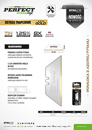 Stalco Perfect Powermax - ostrza trapezowe Gold