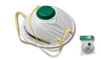 Maska przeciwpyłowa z zaworkiem